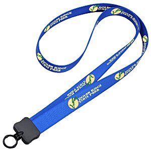 "Dye-Sublimated Stretchy Lanyard - 3/4"" - 36"" Main Image"