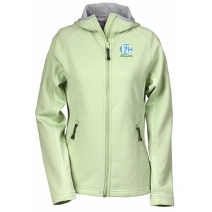 Destination Bonded Fleece Hooded Jacket - Ladies' Main Image