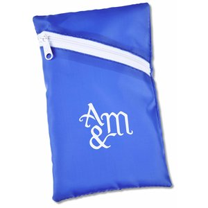 "Angle Zip Pouch - 6-1/2"" x 4"" Main Image"