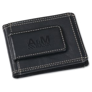 Leather Wallet w/Money Clip Main Image