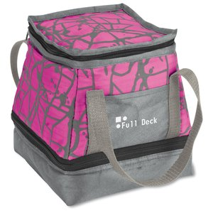 Paint Splatter Lunch Bag/Cooler - Closeout Main Image