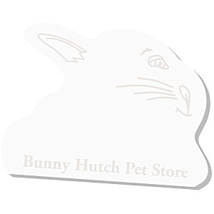 Post-it® Custom Notes - Rabbit - 50 Sheet - Stock Design Main Image