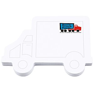 Bic Sticky Note - Truck - 50 Sheet - Stock Design Main Image