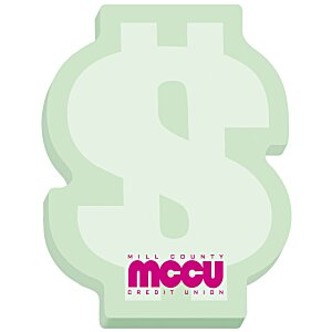 Bic Sticky Note – Dollar Sign – 100 Sheet - Stock Design Main Image