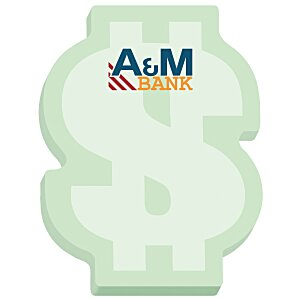 Bic Sticky Note – Dollar Sign – 25 Sheet - Stock Design Main Image