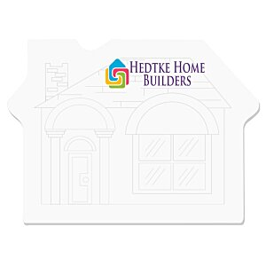 Bic Sticky Note – House – 25 Sheet - Stock Design Main Image