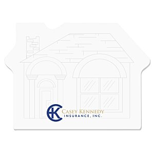 Bic Sticky Note – House – 50 Sheet - Stock Design Main Image