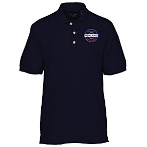 Ultra Club Collection 100% Cotton Pique Golf Shirt Main Image