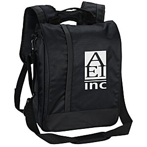 Vertical Laptop Backpack Brief Main Image