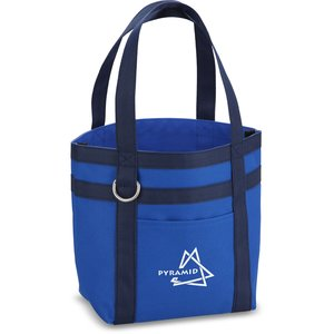 Rugby Stripe Mini Boat Tote Main Image