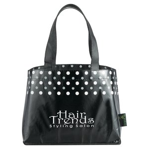 Laminated Non-Woven Mini Dot Tote Main Image