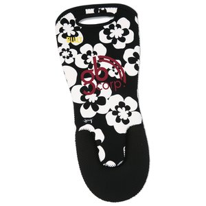 BUILT Sizzler Extra Long Oven Mitt - Summer Bloom