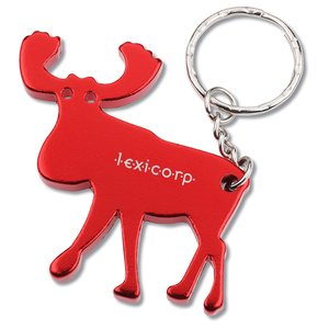 Moose Key Tag Bottle Opener Main Image