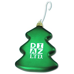 Shatterproof Ornament - Tree - 24 hr