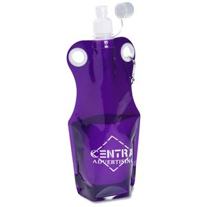 Grommet Foldable Sport Bottle Bag - 21 oz.