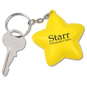 Squishy Key Tag - Star