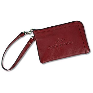 Leather Wristlet - 24 hr Main Image
