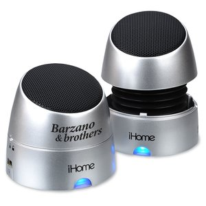 iHome Rechargeable Mini Speakers Main Image