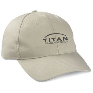 Polyester 6-Panel Cap - Transfer Main Image