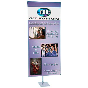 "360 Banner Stand - 78"" x 36"" Main Image"
