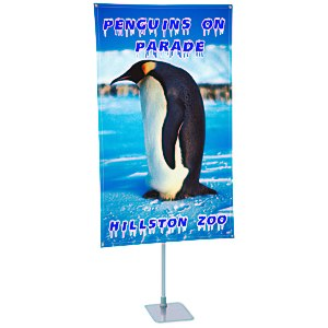 "360 Banner Stand - 62"" x 36"" Main Image"