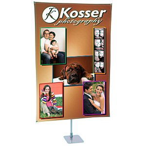 "360 Banner Stand - 72"" x 48"" Main Image"