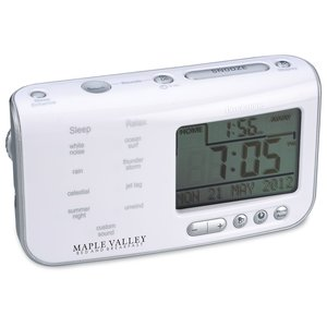 Brookstone Tranquil Moments Clock