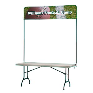 Tabletop Banner System - 6' Main Image