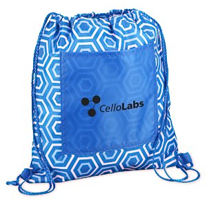 Printed Insulated Sportpack - Hexagon Main Image