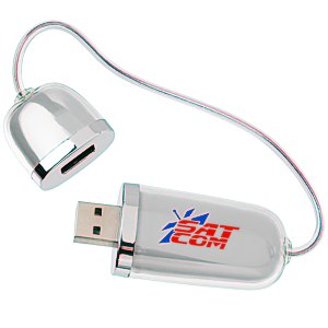 Duo USB Drive with Hub - 1GB