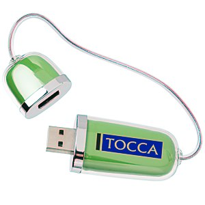 Duo USB Drive with Hub - 2GB Main Image