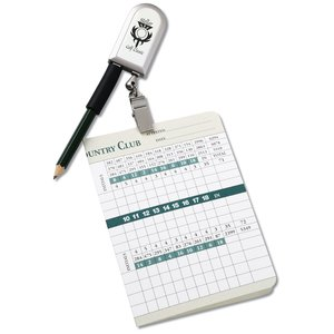 Score Card Keeper with Pencil - Closeout Main Image