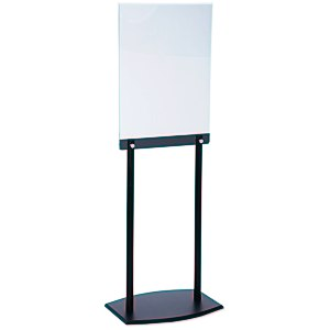 Floor Poster Stand - Black Main Image