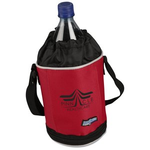 Flexi-Freeze Drawstring Bottle Cooler - Closeout Main Image
