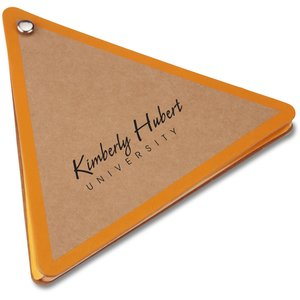 V Natural Kraft Jotter - Triangle - Closeout Main Image