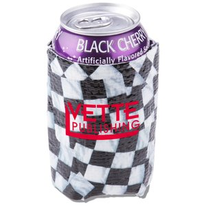 PhotoGraFX Can Holder - Checker Flags - Closeout Main Image