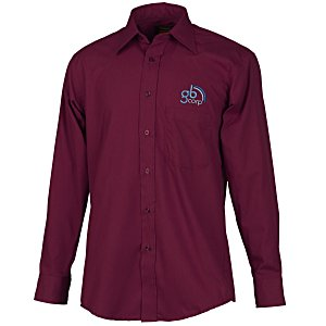 Point Collar Poplin Shirt - Men's Main Image
