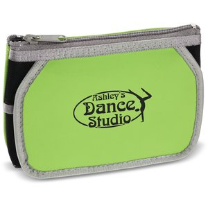 Zippered Cosmetic Pouch with Mirror Main Image