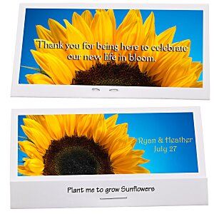 Matchbook Seed Packet - Sunflower Main Image