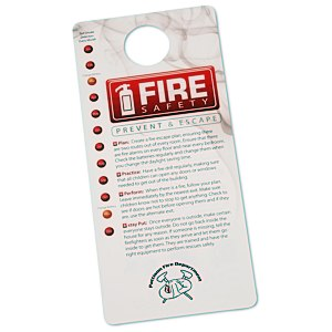Fire Safety Hang Tag Main Image