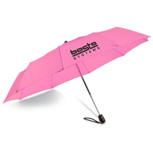 "Mini Diez Auto Open Folding Umbrella - 42"" Arc - Closeout Main Image"