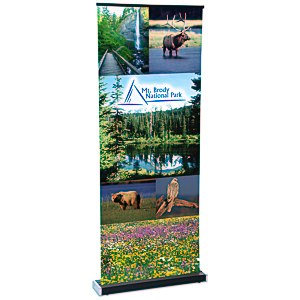 "Square-Off Retractable Banner - 35-3/4""- Replacement Graphic Main Image"