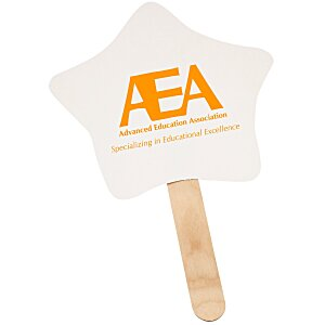 Mini Hand Fan - Star