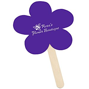 Mini Hand Fan - Flower Main Image