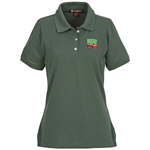 Harriton 5.6 oz. Easy Blend Polo - Ladies' - 24 hr Main Image