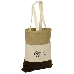 Walkabout Cotton Tote - Closeout Main Image