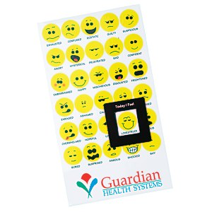 Bic Mood Magnet - Smiley Faces Main Image