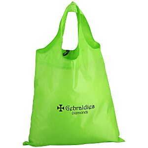 Spring Sling Folding Tote with Pouch - 24 hr Main Image