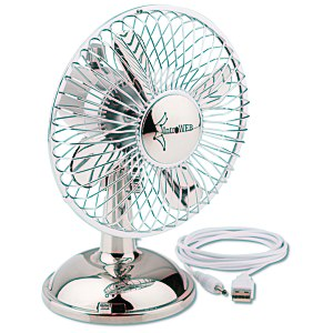 USB Oscillating Desk Fan Main Image