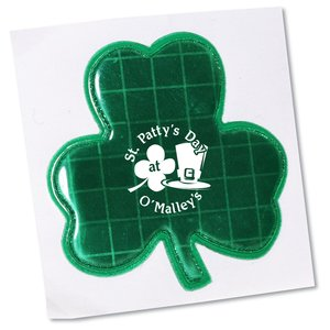 "Reflective Sticker - Shamrock - 2"" Dia"